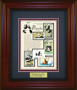 Panda - Personalized Unique Framed Gift