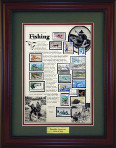 Fishing - Personalized Unique Framed Gift