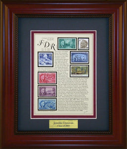 Franklin D. Roosevelt - Personalized Unique Framed Gift