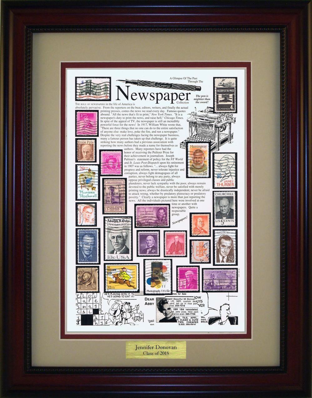 Newspaper - Personalized Unique Framed Gift