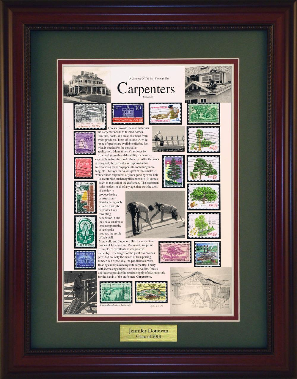 Carpenter - Personalized Unique Framed Gift