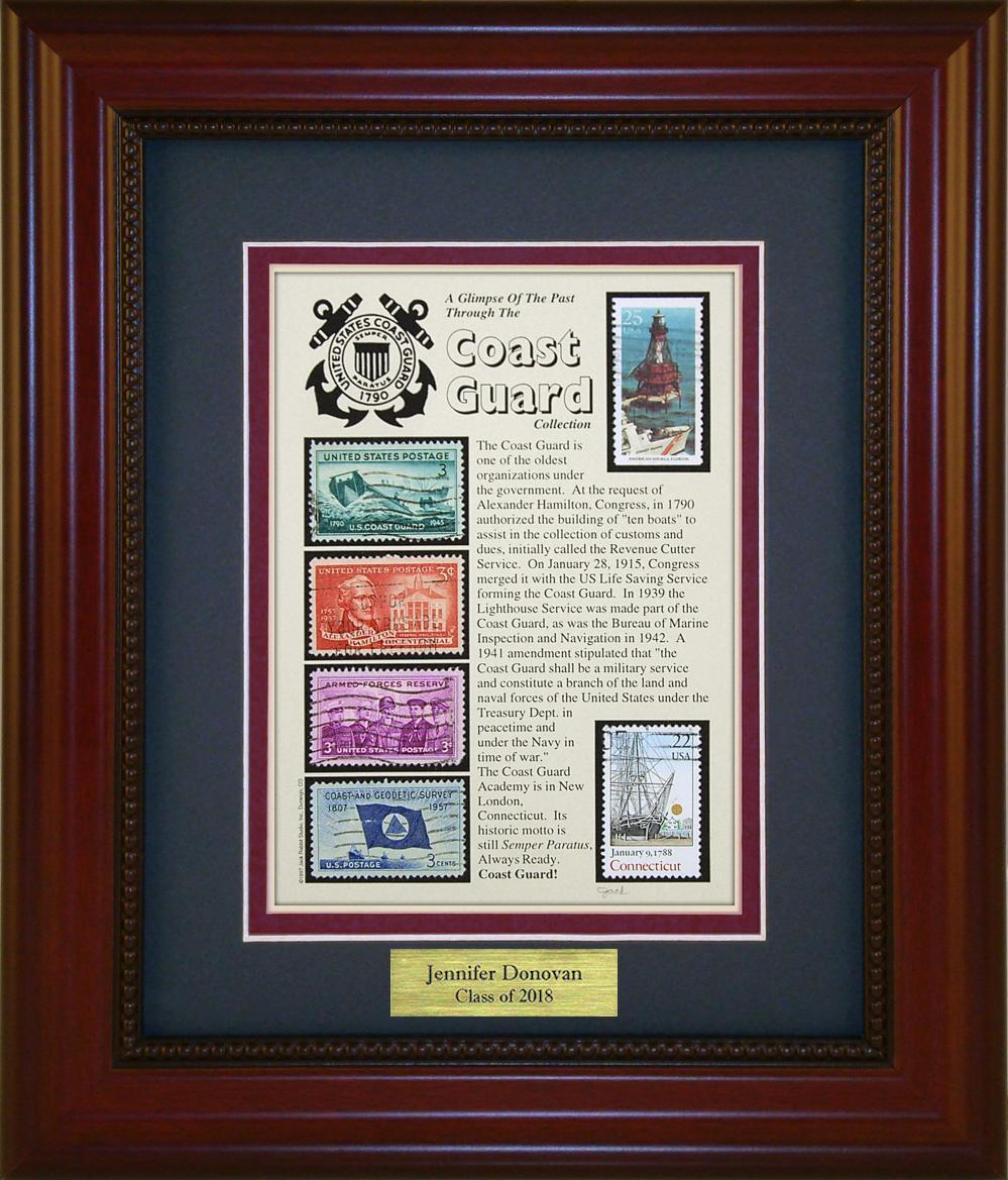 Coast Guard - Personalized Unique Framed Gift