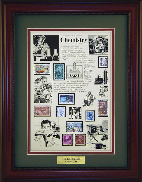 Chemistry - Personalized Unique Framed Gift