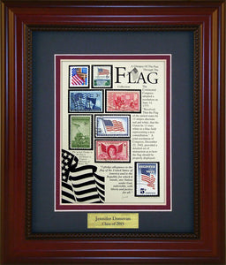 Flags - Personalized Unique Framed Gift