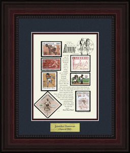 Running - Personalized Unique Framed Gift