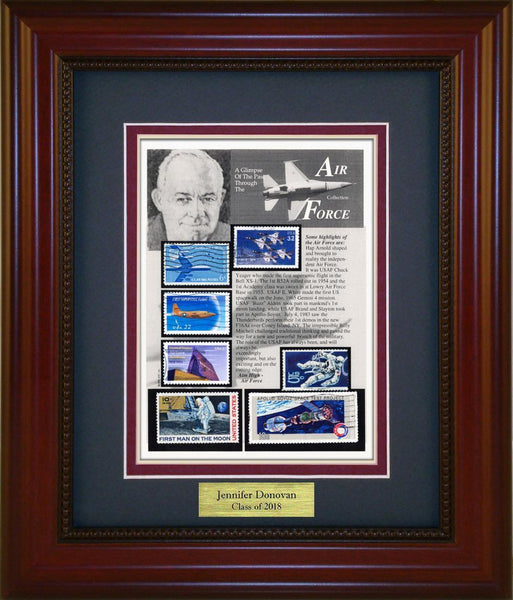 Air Force - Personalized Unique Framed Gift