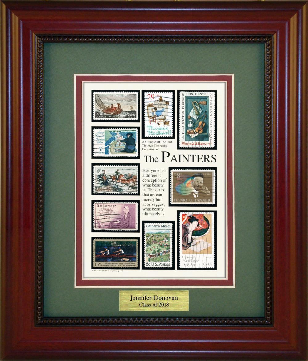The Painters - Personalized Unique Framed Gift