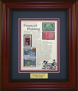 Financial Planner - Personalized Unique Framed Gift