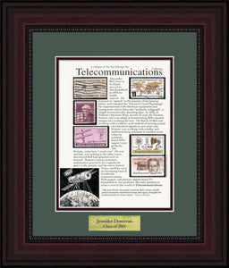 Telecommunications - Personalized Unique Framed Gift