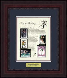 Figure Skating - Personalized Unique Framed Gift
