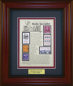Media Specialist - Personalized Unique Framed Gift