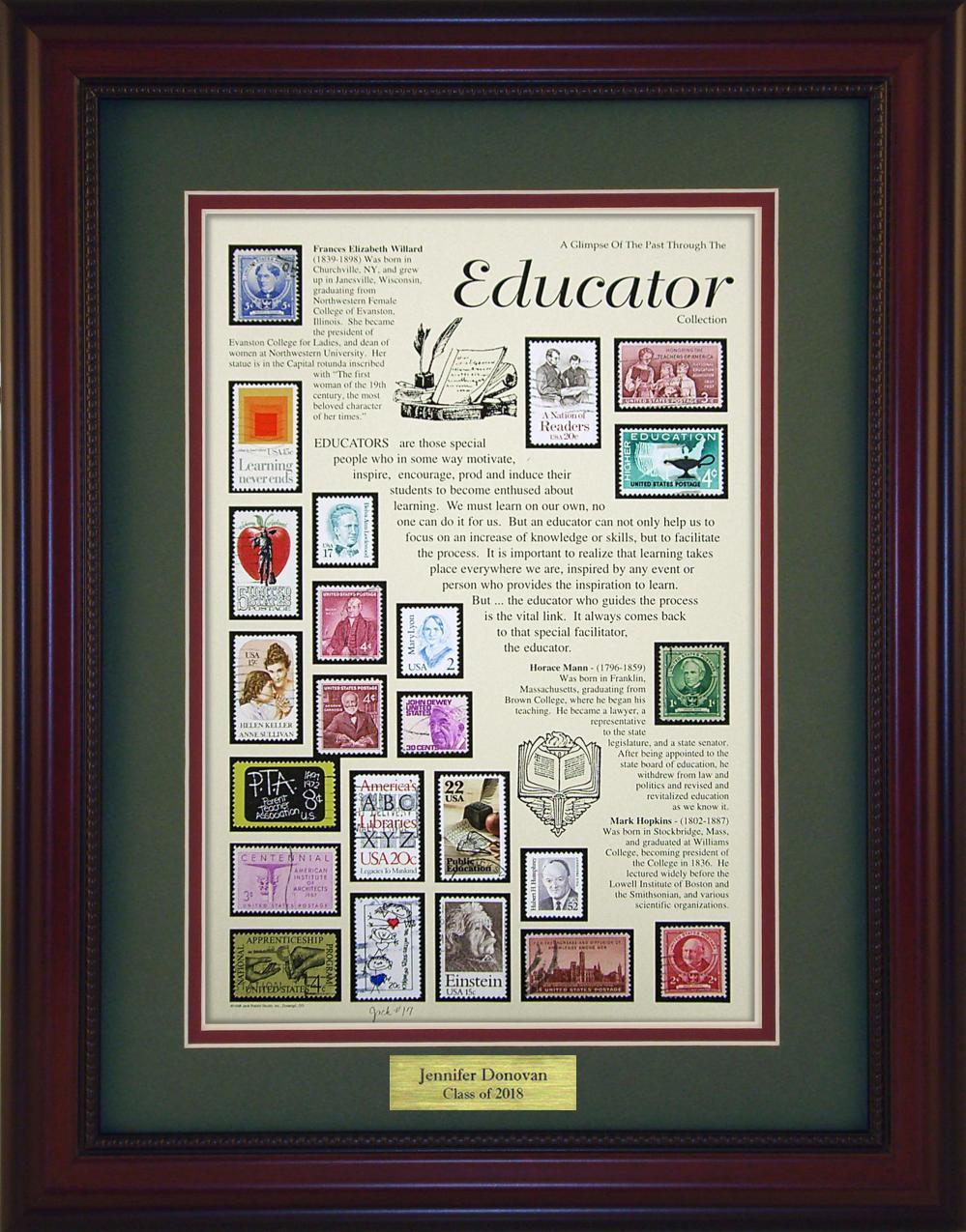 Educators - Personalized Unique Framed Gift