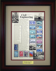 Civil Engineer - Personalized Unique Framed Gift