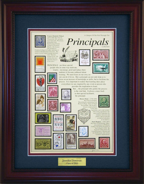 Principals - Personalized Unique Framed Gift