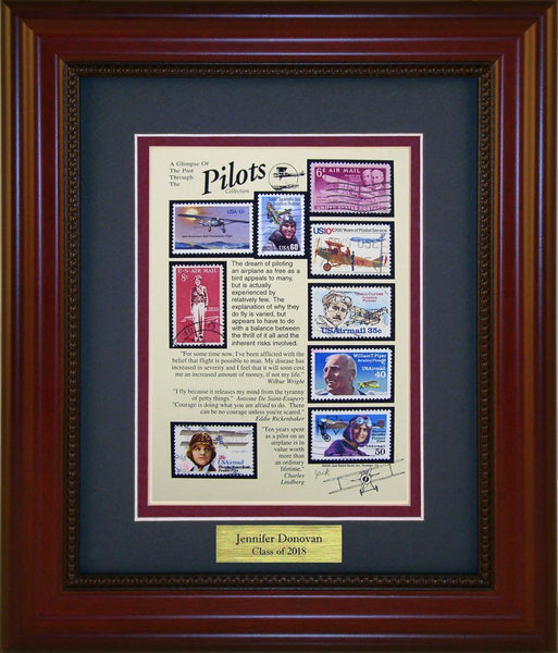 Pilots - Personalized Unique Framed Gift