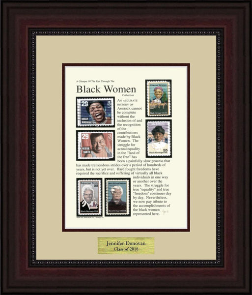Black Heritage (women) - Personalized Unique Framed Gift