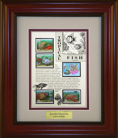 Tropical Fish - Personalized Unique Framed Gift