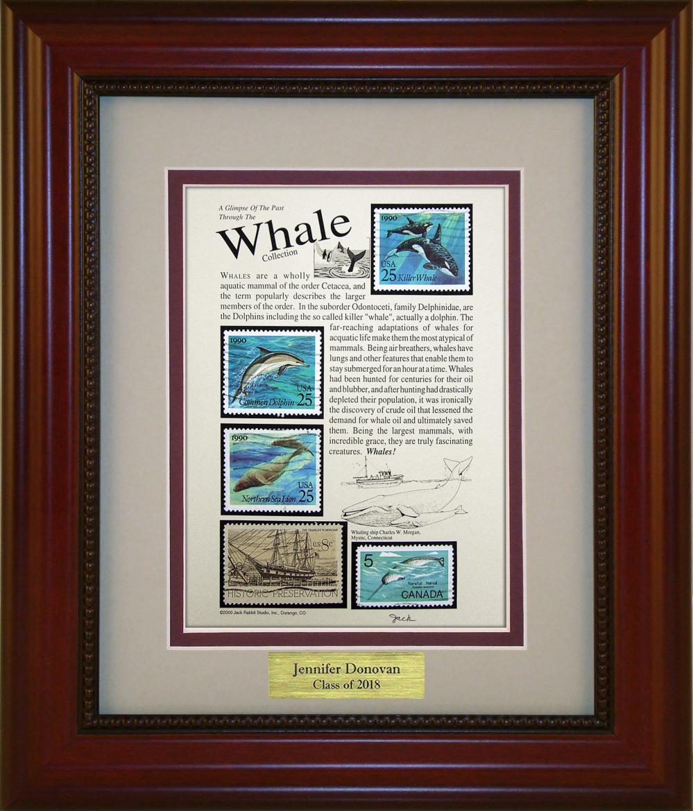 Whales - Personalized Unique Framed Gift