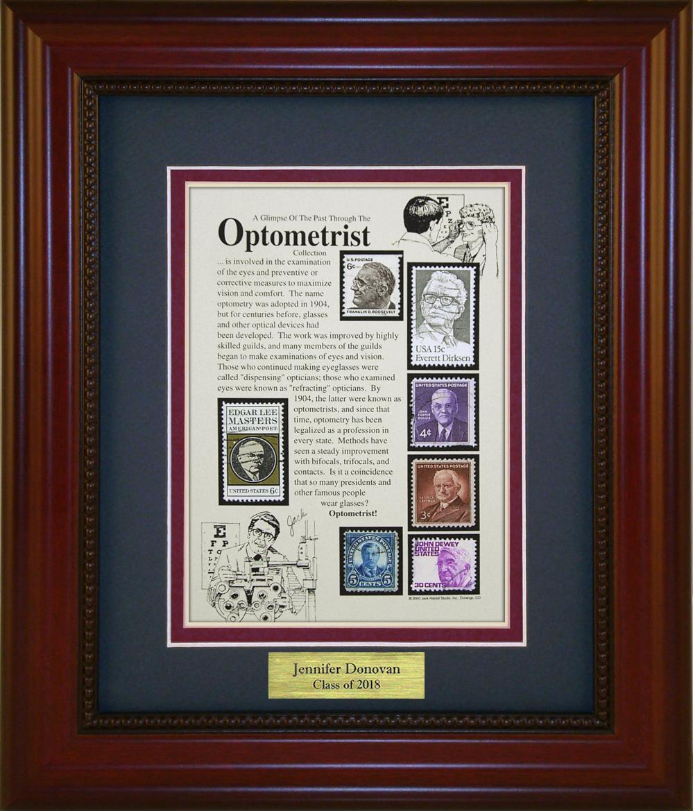 Optometrist - Personalized Unique Framed Gift