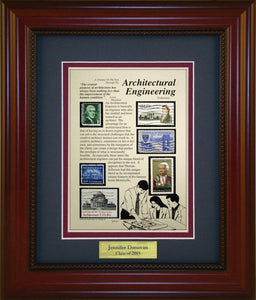Architectural Engineer - Personalized Unique Framed Gift