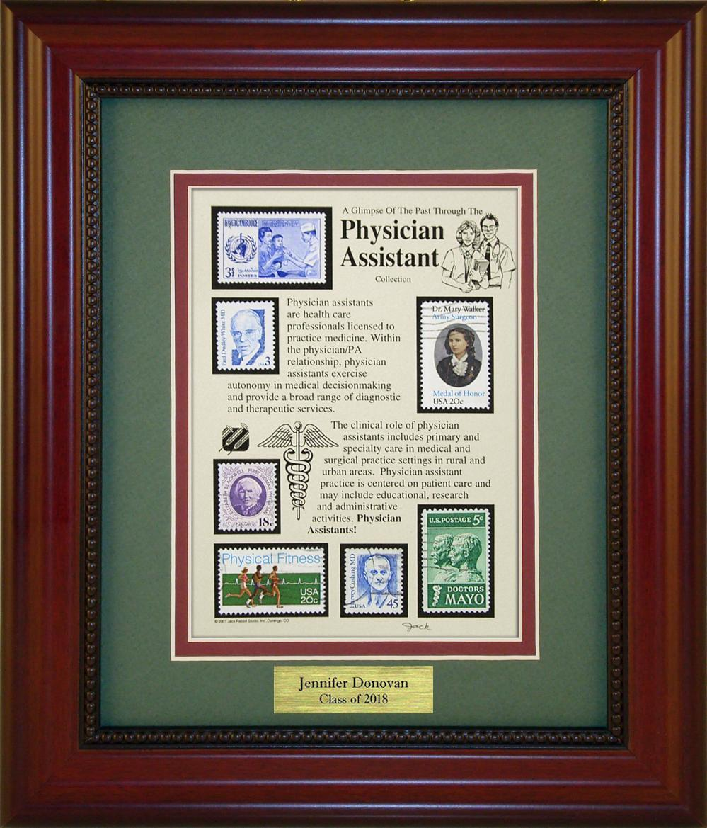 Physician Assistant - Personalized Unique Framed Gift