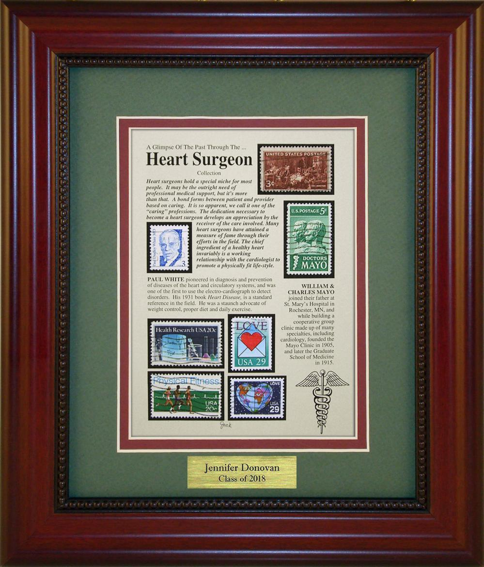 Heart Surgeon - Personalized Unique Framed Gift