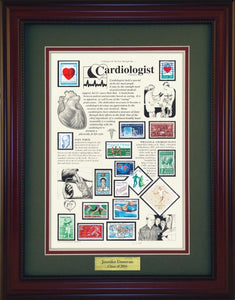 Cardiologist - Personalized Unique Framed Gift