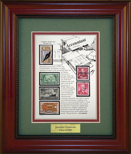 Accountant - Personalized Unique Framed Gift