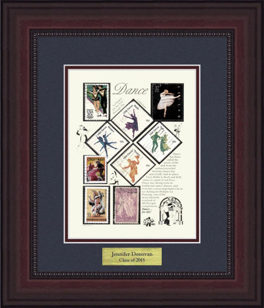 Dance - Personalized Unique Framed Gift