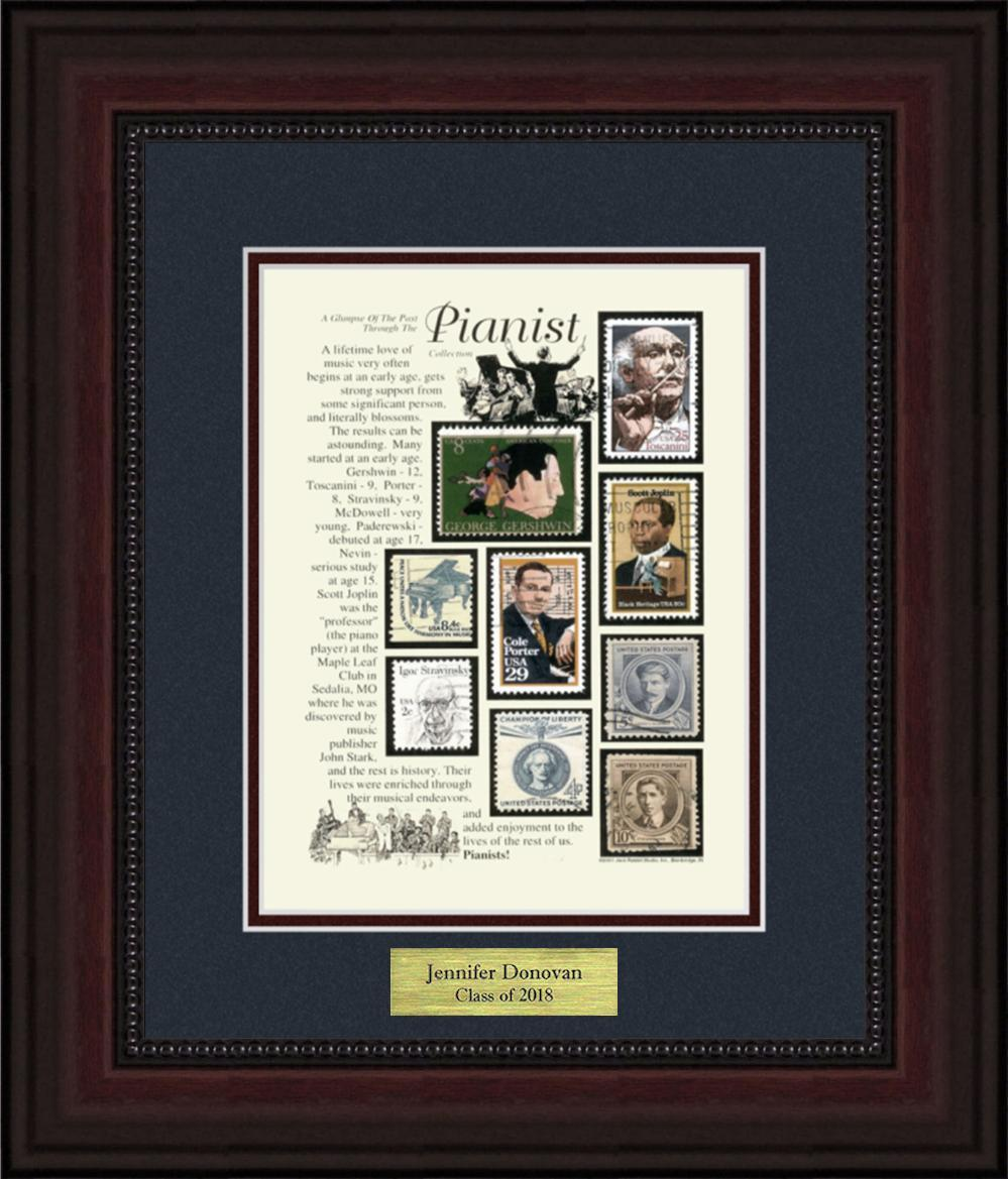 Pianist - Personalized Unique Framed Gift