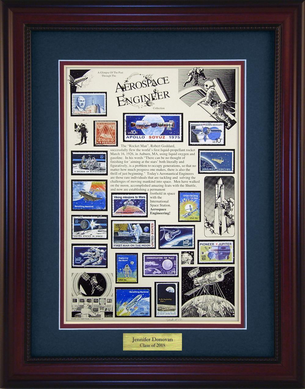 Aerospace Engineer - Personalized Unique Framed Gift