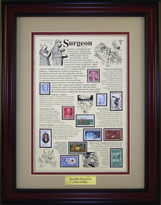 Surgeon - Personalized Unique Framed Gift