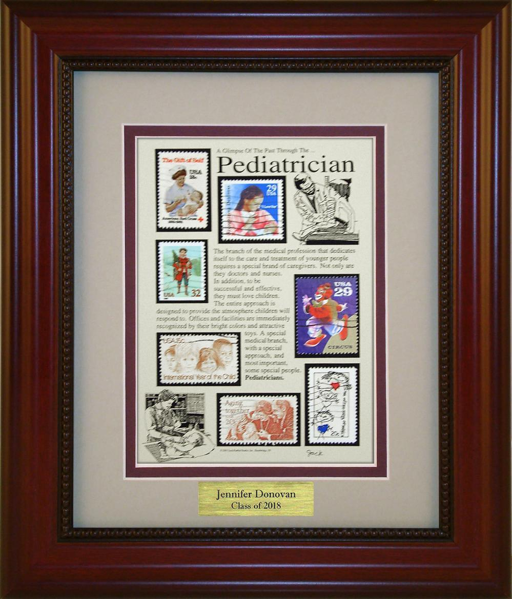 Pediatrician - Personalized Unique Framed Gift