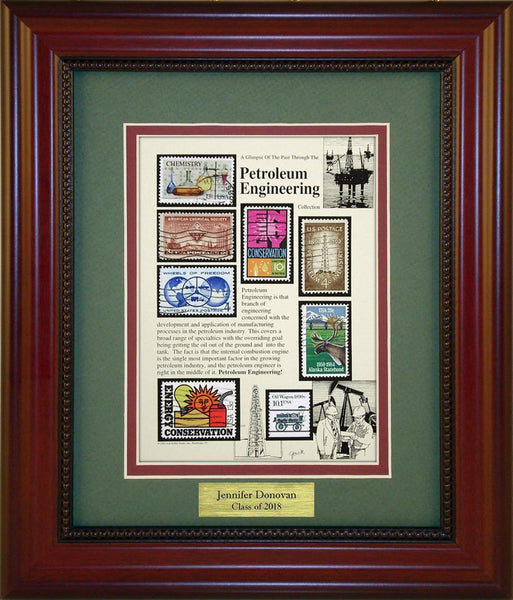 Petroleum Engineering - Personalized Unique Framed Gift