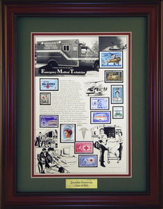 EMTs - Personalized Unique Framed Gift