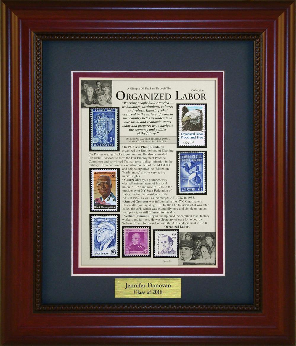 Organized Labor - Personalized Unique Framed Gift