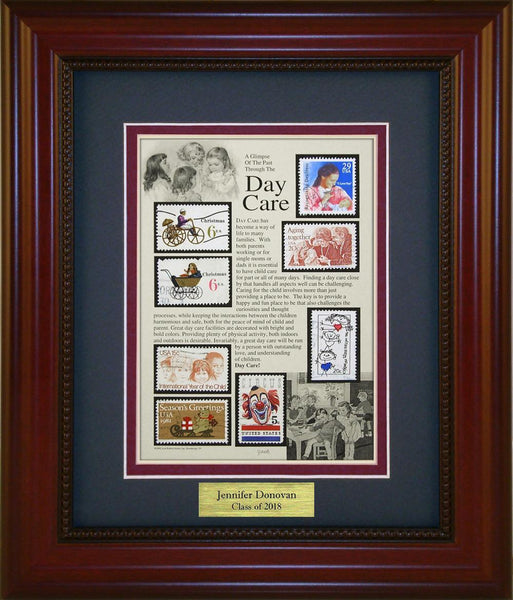 Day Care (Babysitting) - Personalized Unique Framed Gift