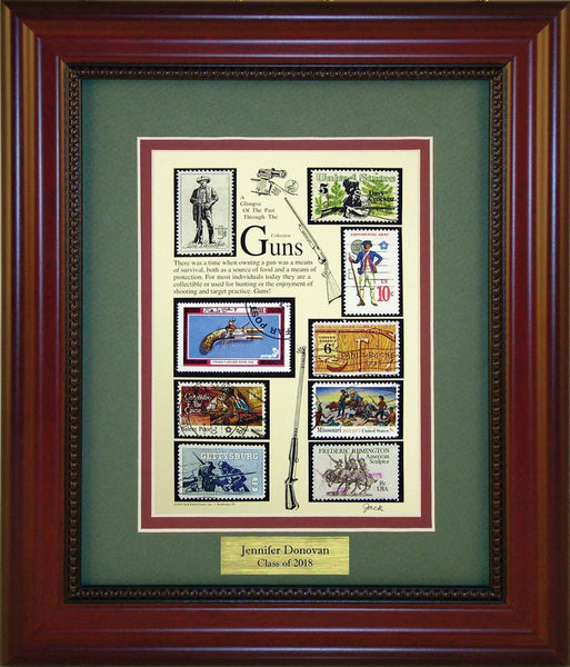 Guns - Personalized Unique Framed Gift