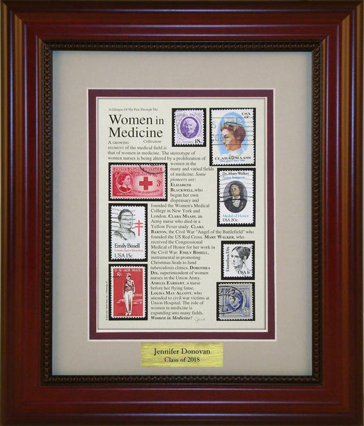Women in Medicine - Personalized Unique Framed Gift