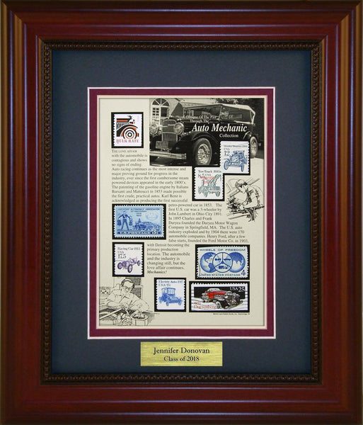 Auto Mechanic - Personalized Unique Framed Gift