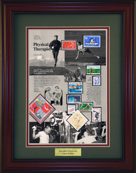 Physical Therapist - Personalized Unique Framed Gift