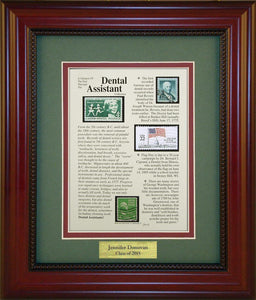 Dental Assistant - Personalized Unique Framed Gift