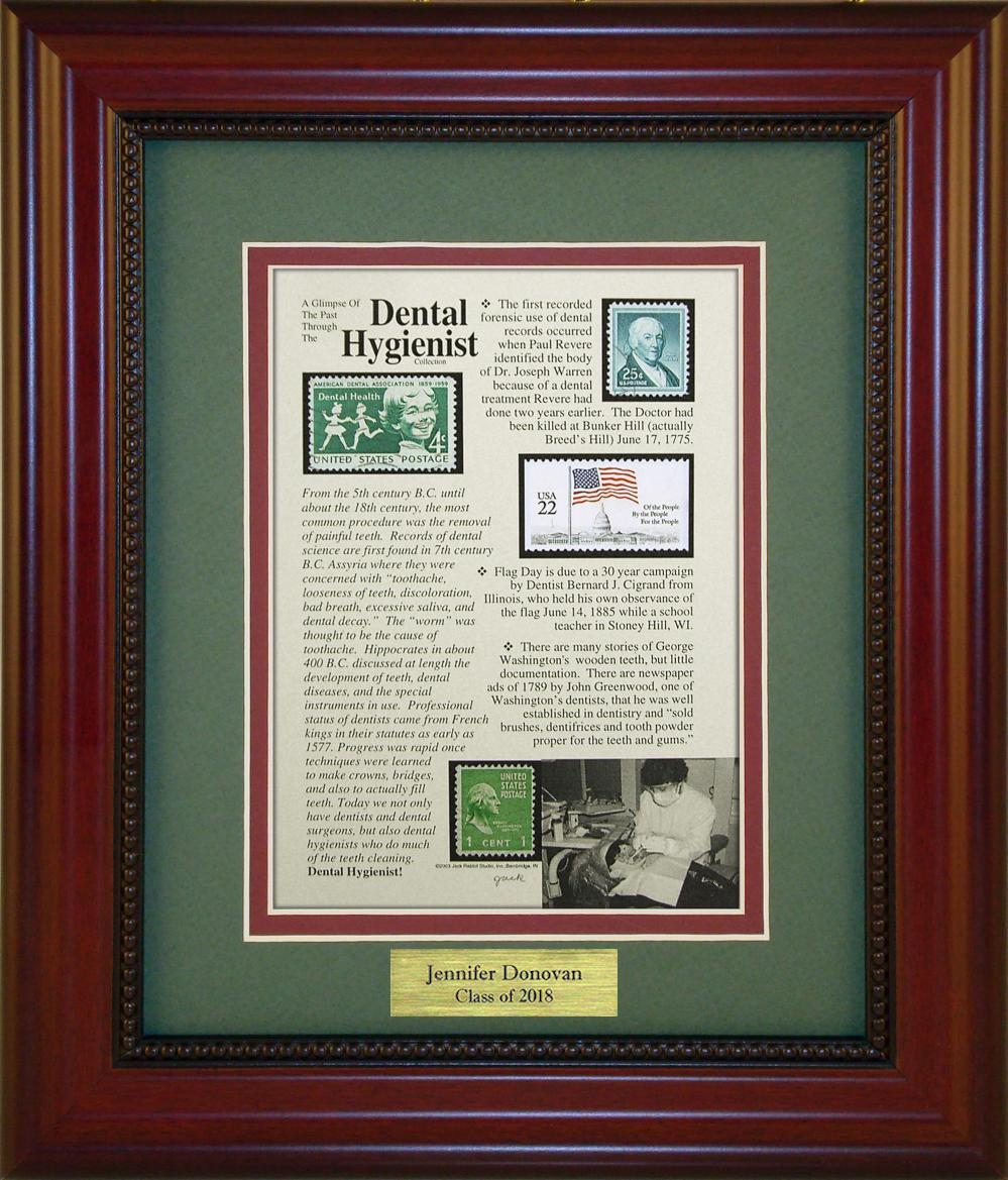 Dental Hygienist - Personalized Unique Framed Gift