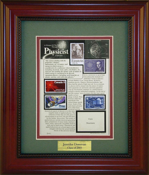 Physics/Physicist - Personalized Unique Framed Gift