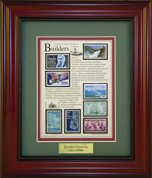 Builders - Personalized Unique Framed Gift