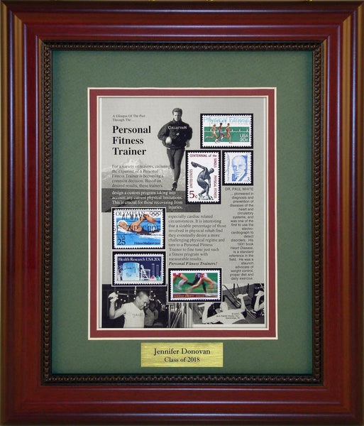 Personal Fitness Trainer - Personalized Unique Framed Gift