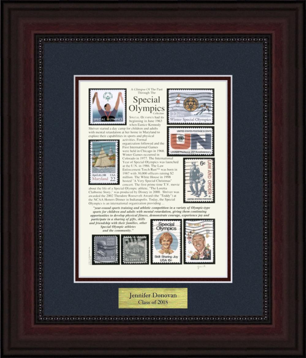 Special Olympics - Personalized Unique Framed Gift