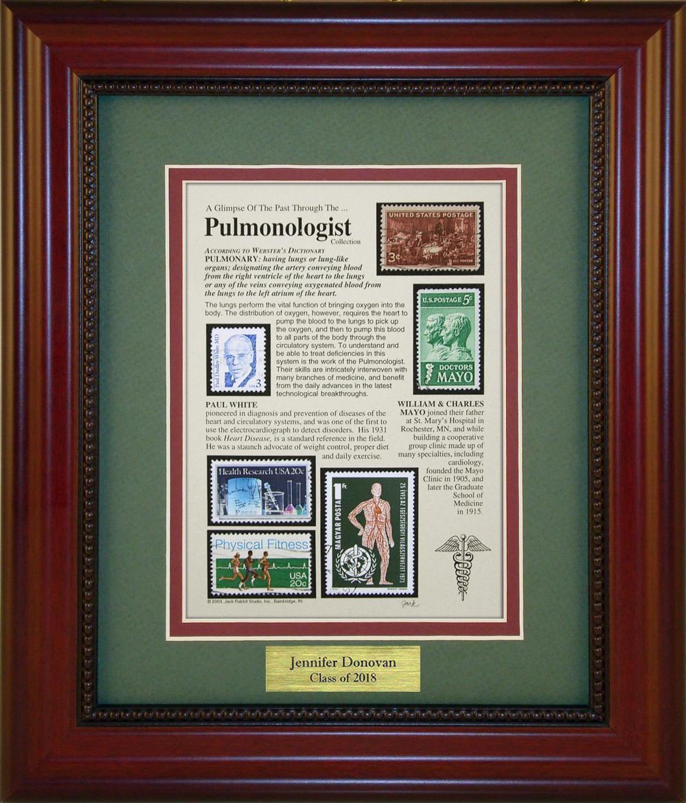 Pulmonologist - Personalized Unique Framed Gift