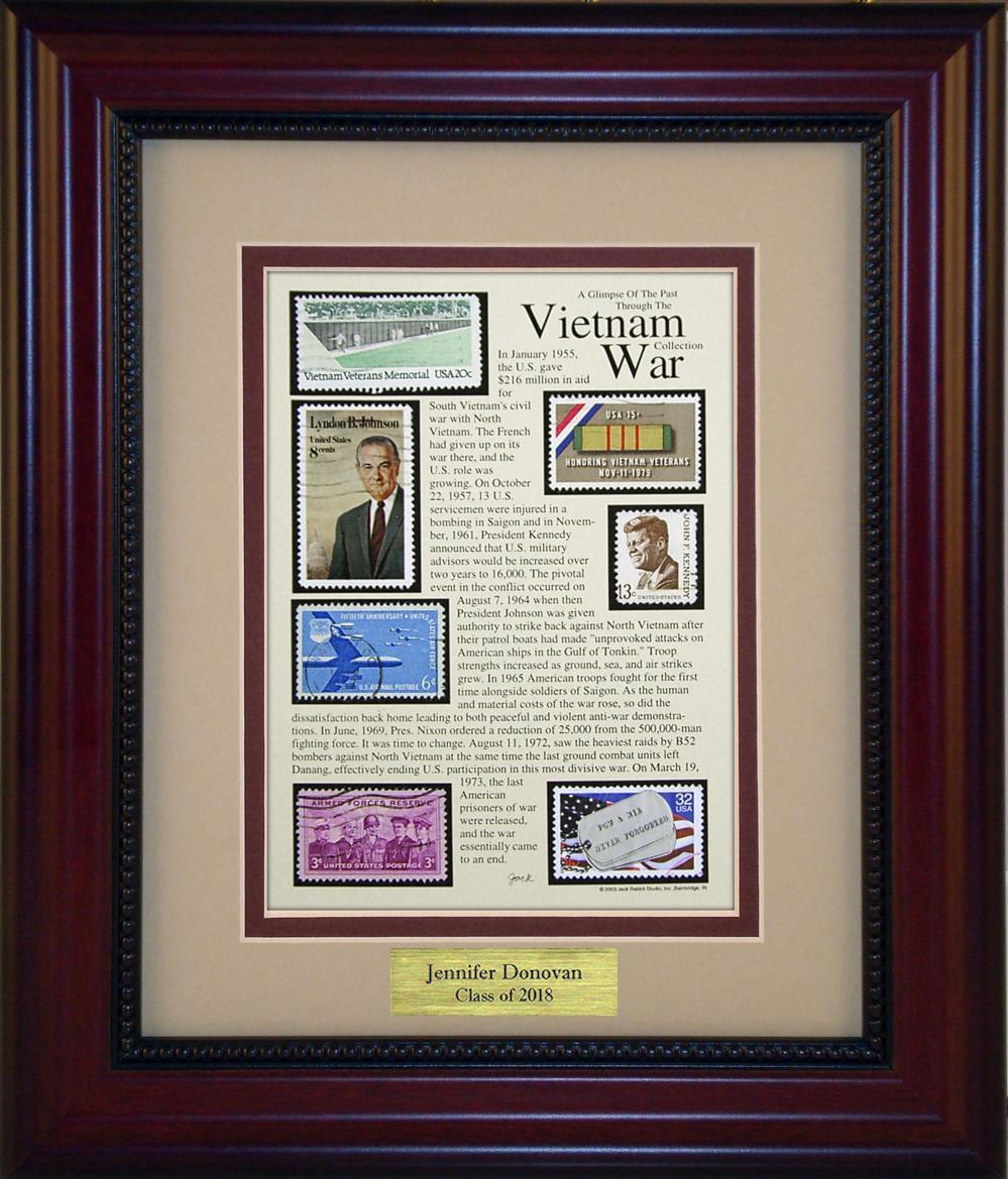 Vietnam War - Personalized Unique Framed Gift
