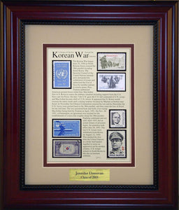 Korean War - Personalized Unique Framed Gift